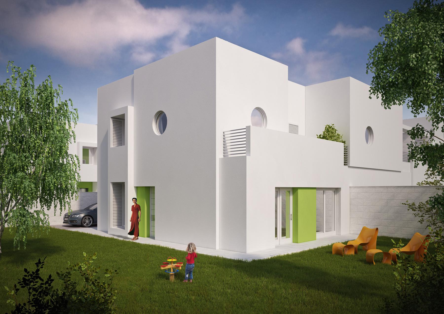 Home page gruppo prence costruzioni for Moderni piani a schiera