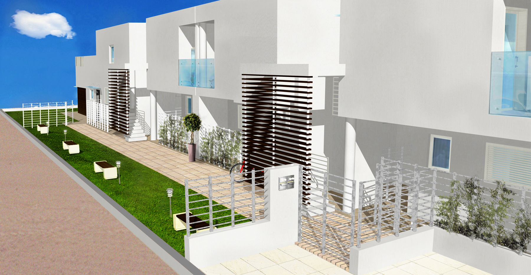 Settembrini 1 gruppo prence costruzioni for Villette a schiera moderne