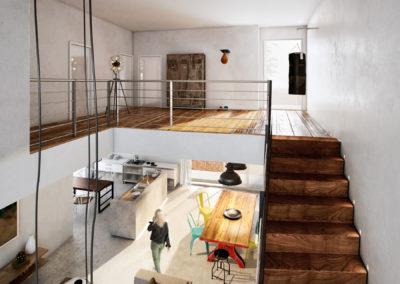 Castromediano H3 loft interno